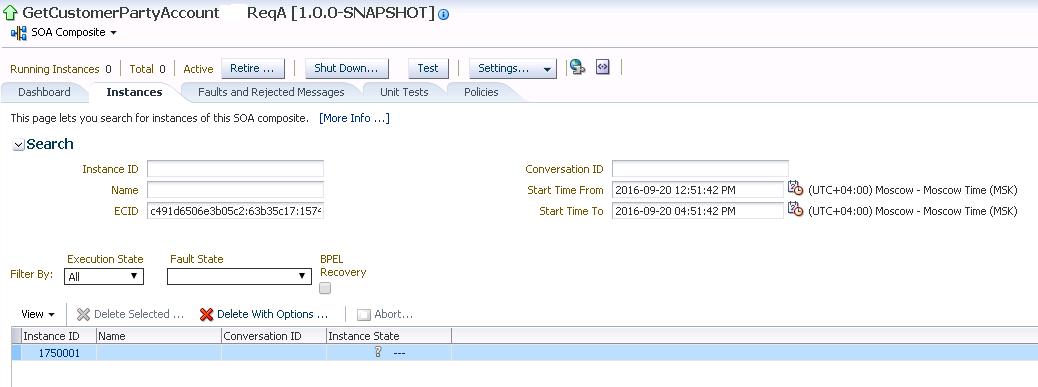 Разработка заглушек бизнес-процесса на языке BPEL на основе Oracle SOA Suite и Weblogic - 61