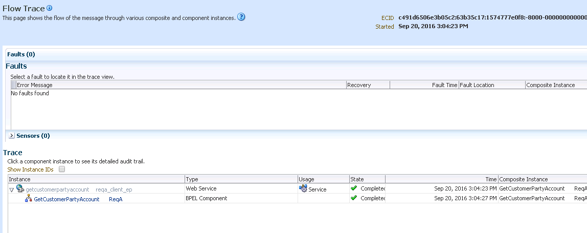 Разработка заглушек бизнес-процесса на языке BPEL на основе Oracle SOA Suite и Weblogic - 62