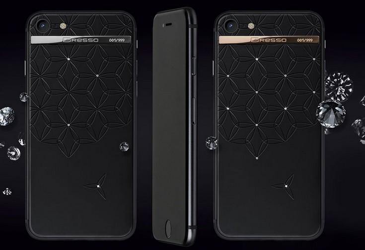 Gresso представила очередные люксовые версии iPhone
