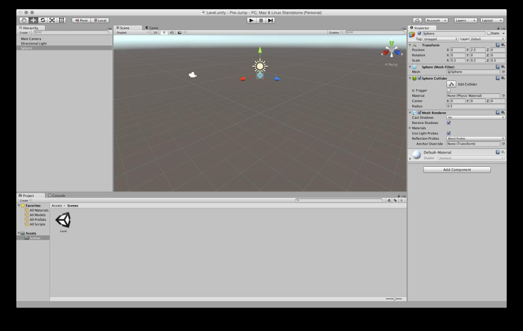 Создаем игру для WebGL с помощью Unity 5 и JavaScript - 5