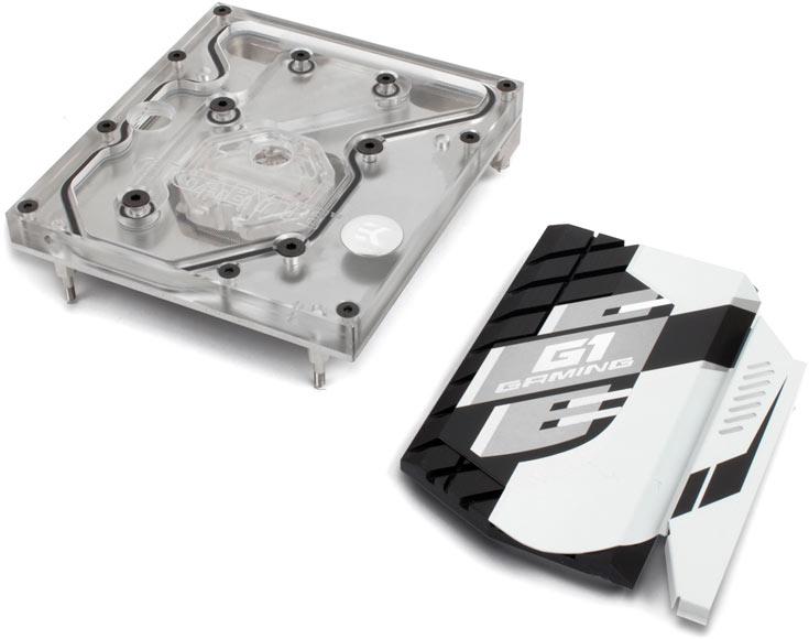 Водоблоки EK-FB GA X99 предназначены для системных плат Gigabyte GA-X99 - 3