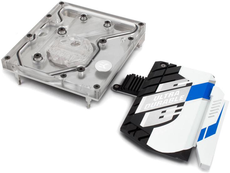 Водоблоки EK-FB GA X99 предназначены для системных плат Gigabyte GA-X99 - 4