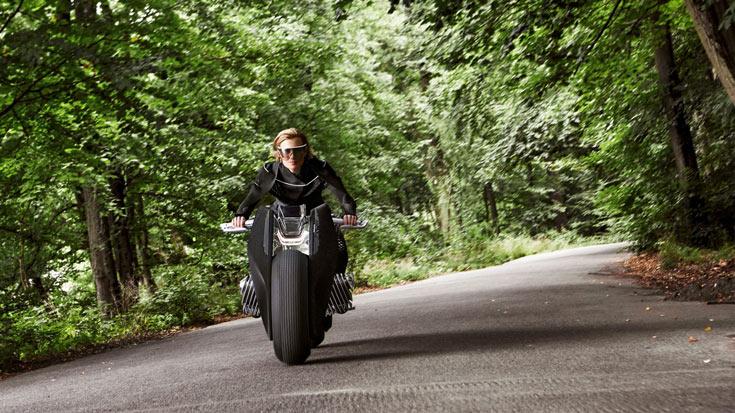 BMW Motorrad Vision Next 100 — представление BMW о будущем мотоциклов
