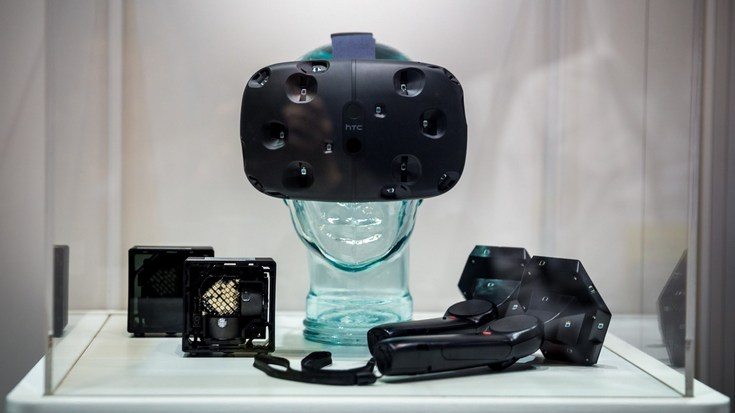 HTC продала уже около 150 000 гарнитур Vive