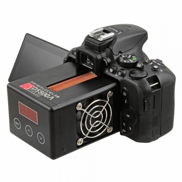 Датчик изображения камеры Primaluce Lab Nikon D5500a охлаждается элементами Пельте