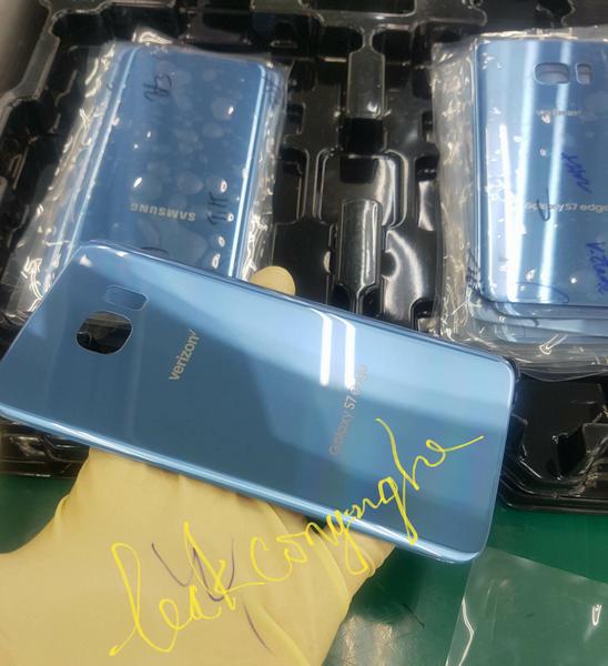 Смартфон Samsung Galaxy S7 Edge появится в цвете Blue Coral