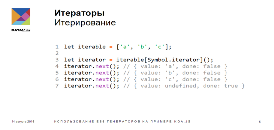 Использование ES6 генераторов на примере koa.js - 3
