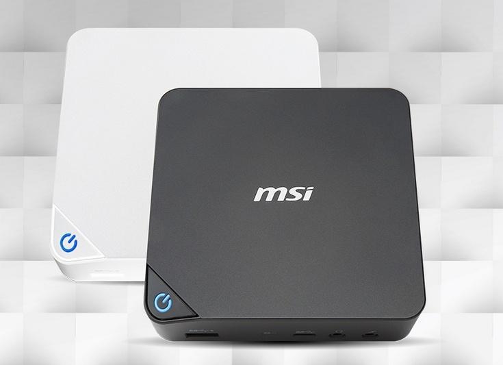 MSI перевела мини-ПК Cube 2 на новые CPU Intel