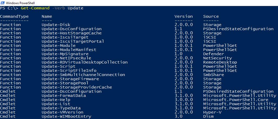 Новые возможности PowerShell в Windows Server 2016 - 5