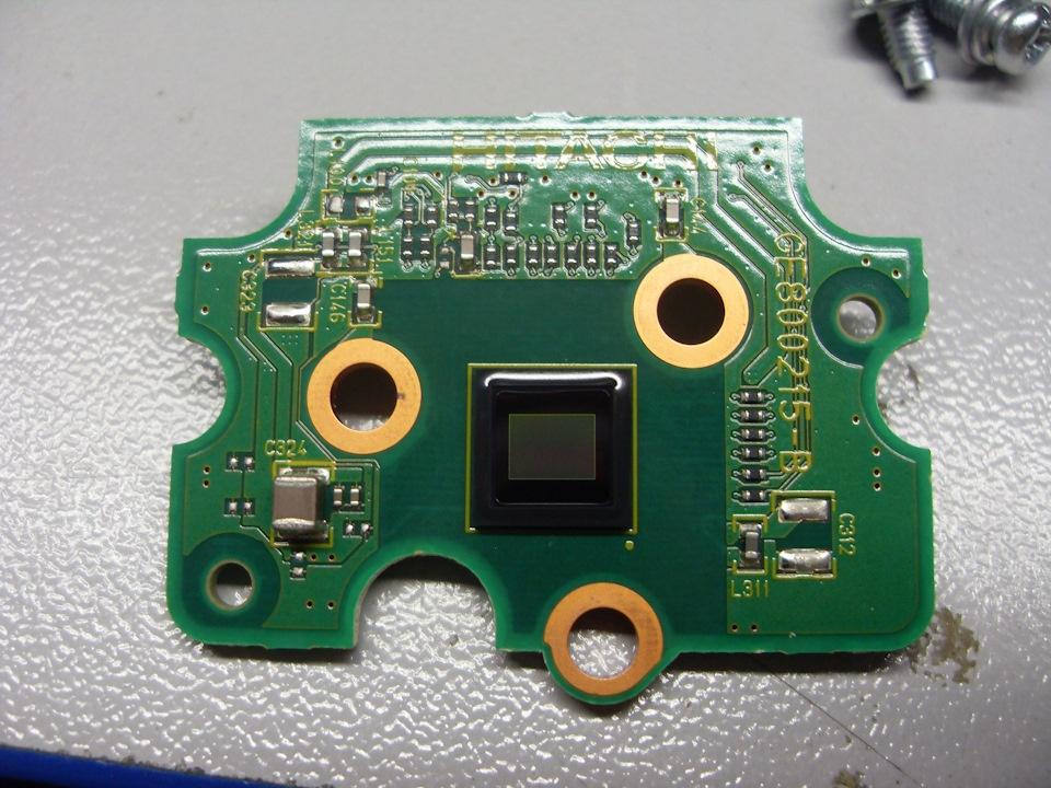 Препарирование стереокамеры Subaru Eyesight - 10
