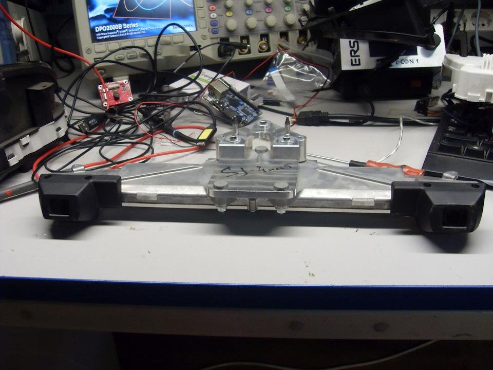 Препарирование стереокамеры Subaru Eyesight - 3