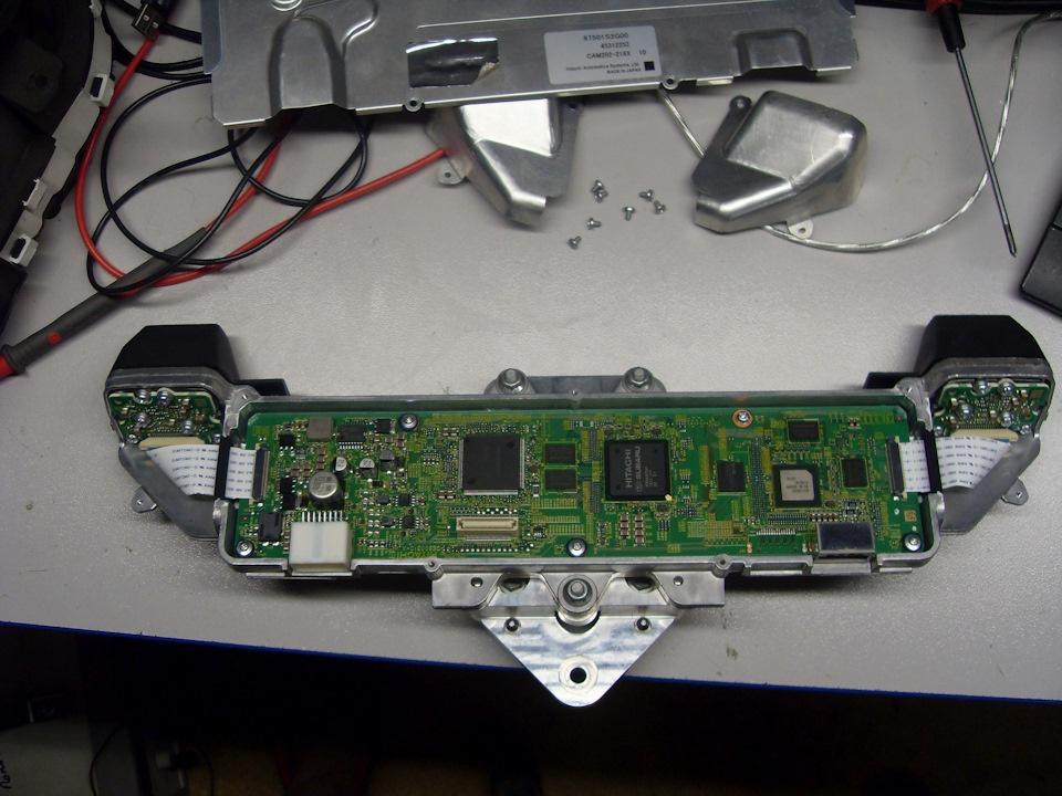 Препарирование стереокамеры Subaru Eyesight - 4