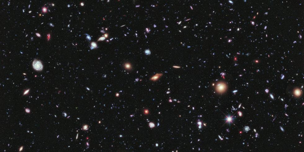 В обозримой части Вселенной в 10-20 раз больше галактик, чем считалось ранее - 1