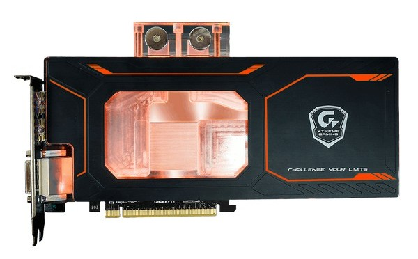 Видеокарта Gigabyte GeForce GTX 1080 Xtreme Gaming WaterForce WB 8G оснащена водоблоком