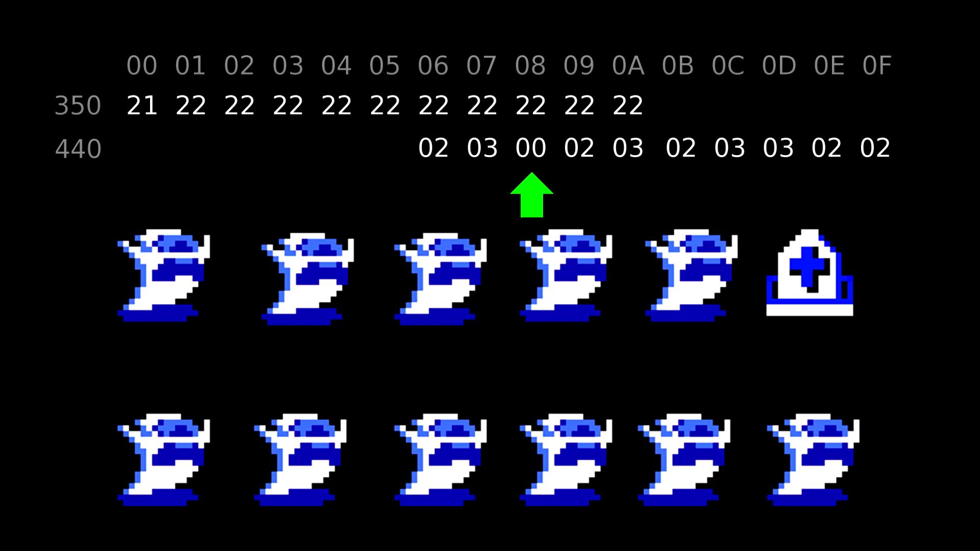 Спидран Legend of Zelda путём манипуляций памятью игры - 6