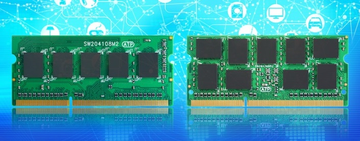 Модули ОЗУ ATP DDR3L-1866 SODIMM ECC совсестимы с SoC Intel Apollo Lake