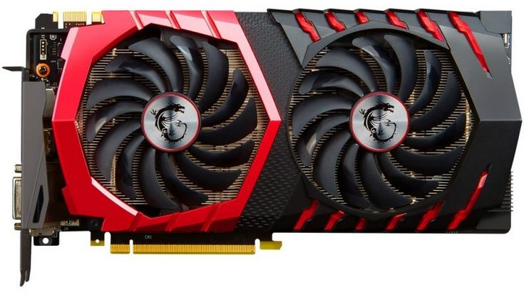 Видеокарта MSI GeForce GTX 1080 Gaming Z