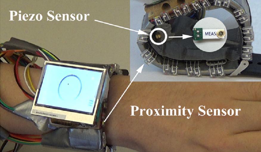 WristWhirl: прототип умных часов, управляемых жестами - 3
