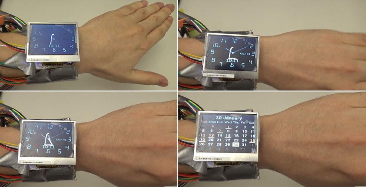 WristWhirl: прототип умных часов, управляемых жестами - 1