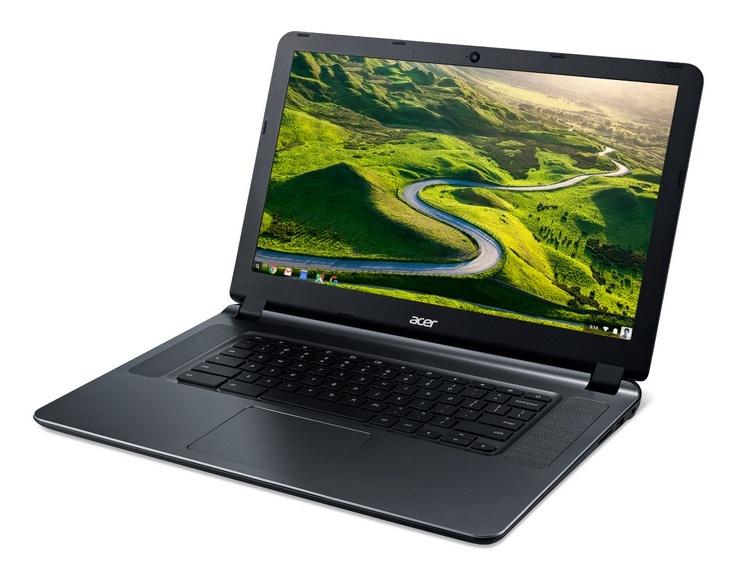 Acer обновила мобильный ПК Chromebook 15
