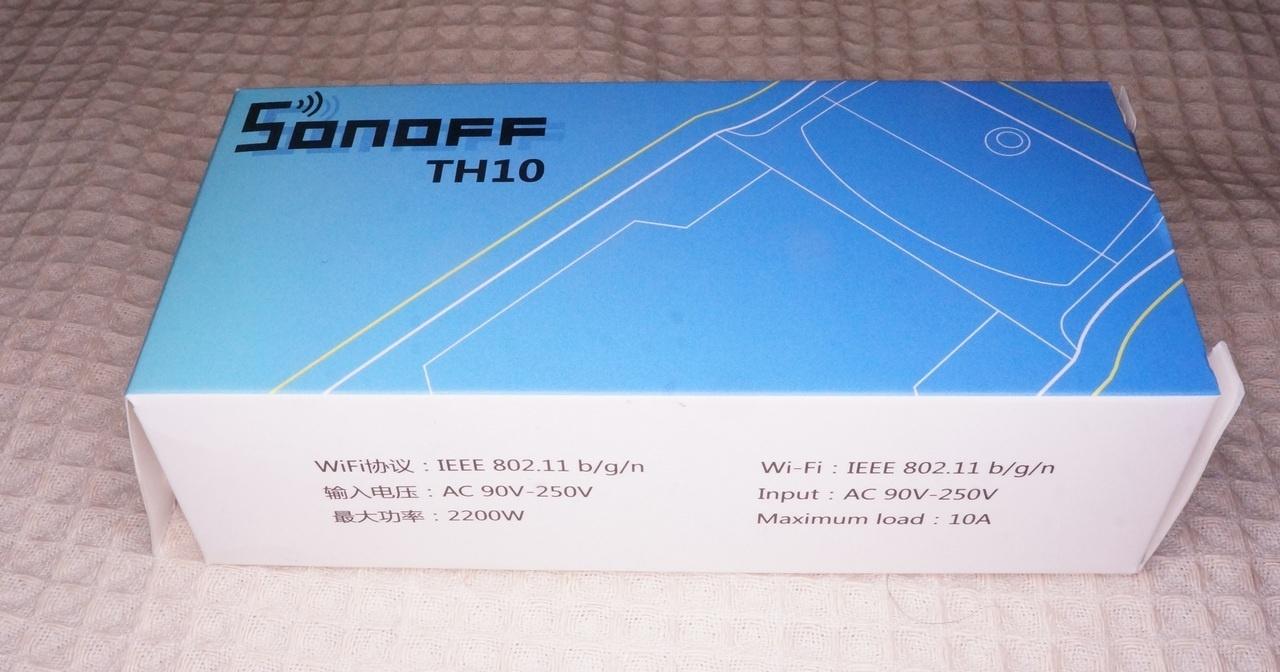 Пишем свою прошивку для модулей Sonoff TH10-16 - 2