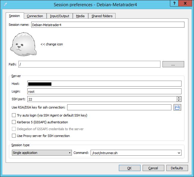 Установка Metatrader 4 на VPS под Debian 8 - 4