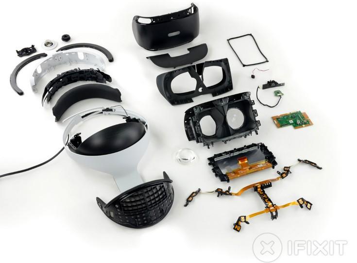 Гарнитура PlayStation VR легко разбирается, но трудно собирается