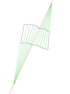 Устранение перспективных искажений и разгибание кривых строк на фотографиях книжных разворотов - 2