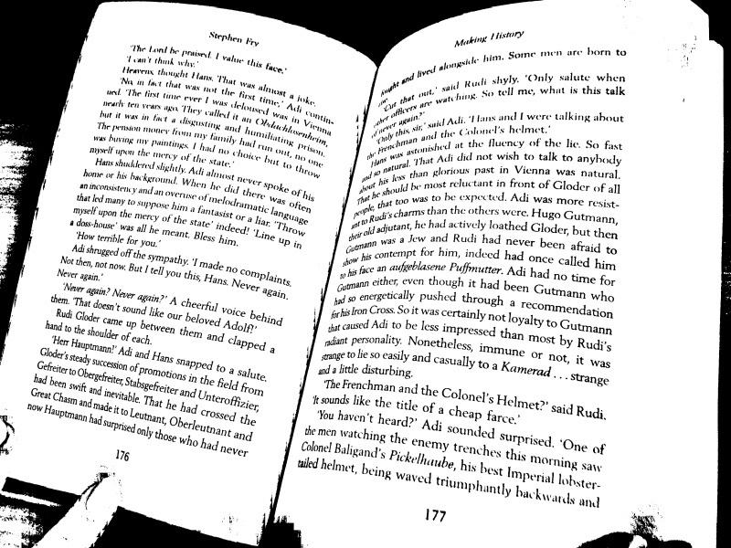 Устранение перспективных искажений и разгибание кривых строк на фотографиях книжных разворотов - 3