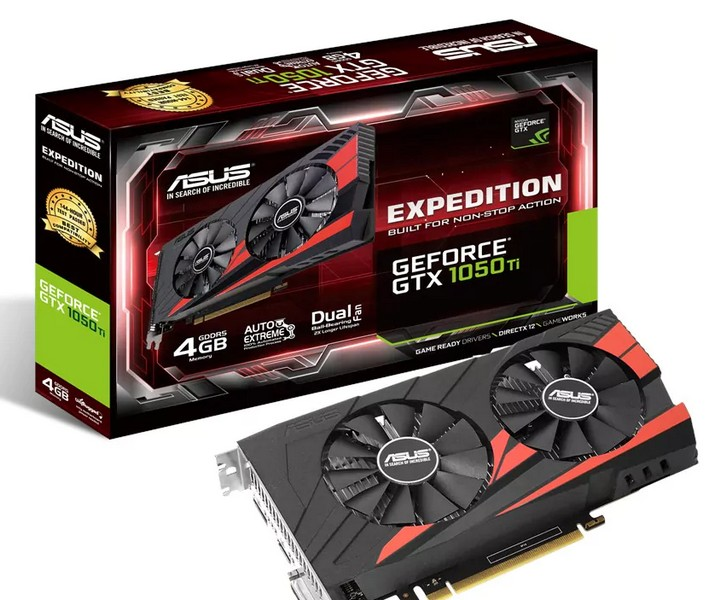 Asus представила много видеокарт GeForce GTX 1050 и GTX 1050 Ti, но мало о них рассказала