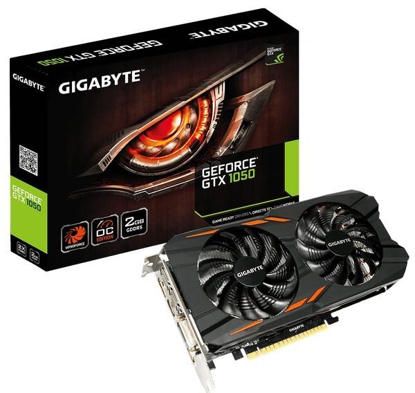 Gigabyte представила множество разных моделей  GeForce GTX 1050 и GTX 1050 T