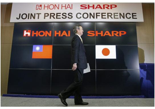 Считается, что Foxconn и Sharp понадобится очень много времени, чтобы закрепиться на рынке панелей OLED небольшого размера