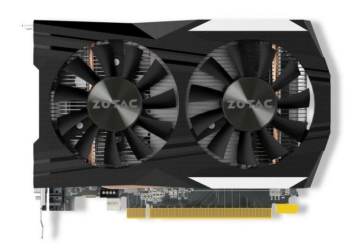 Zotac представила компактные версии GeForce GTX 1050 и GTX 1050 Ti