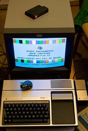 Архитектура и программирование компьютера Texas Instruments TI-99-4a - 1