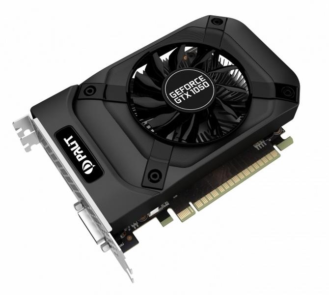 Palit выпустила две простейшие карты GeForce GTX 1050 и GTX 1050 Ti