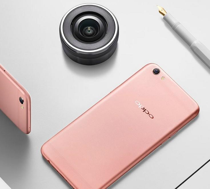 Смартфон Oppo R9S получил датчик изображения Sony IMX398 с диафрагмой F/1,7 и измененный дизайн антенн