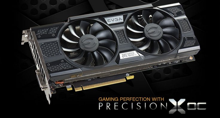 EVGA представила 10 видеокарт GeForce GTX 1050 и GTX 1050 Ti
