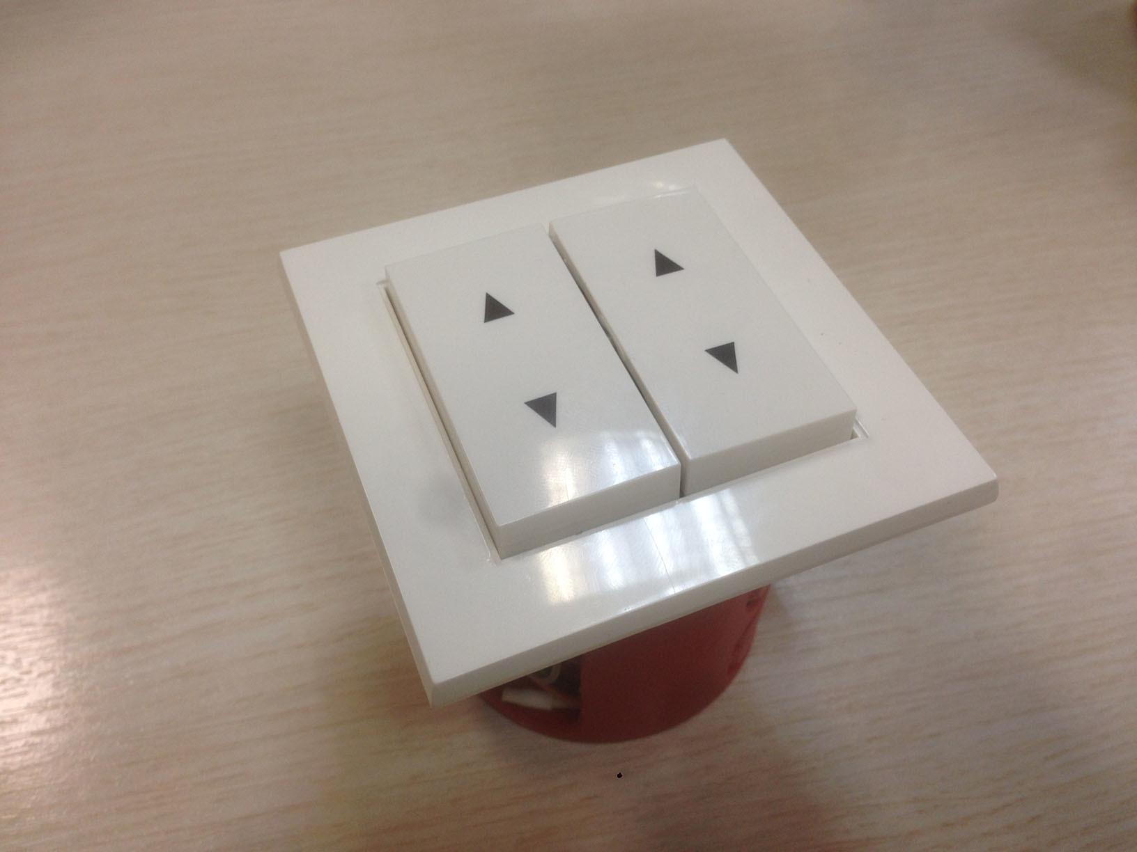 Выключатель Gira + Z-Wave. 4-кнопочный радио выключатель на базе Z-Uno - 6