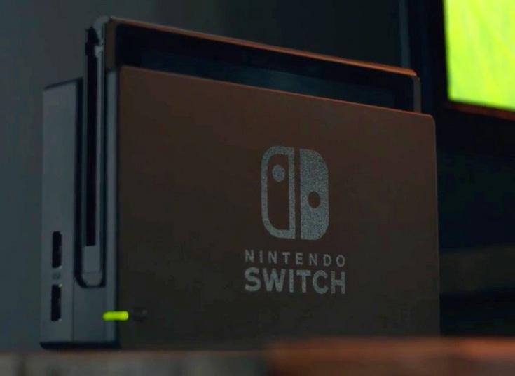 Новая консоль Nintendo называется Switch
