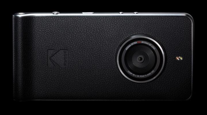 Камерофон Kodak Ektra с ОС Android оснащен камерой разрешением 21 Мп с системой оптической стабилизации