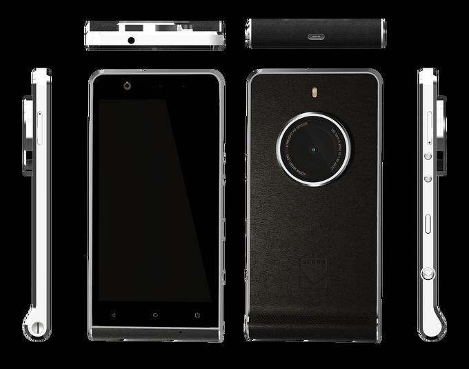 Компания Kodak представила публике собственный камерафон EKTRA - 2