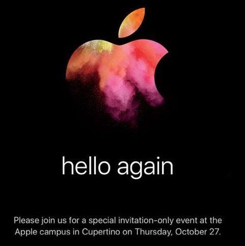 Пресс-конференция Apple, посвященная анонсу новых MacBook, состоится 27 октября в 20:00 мск