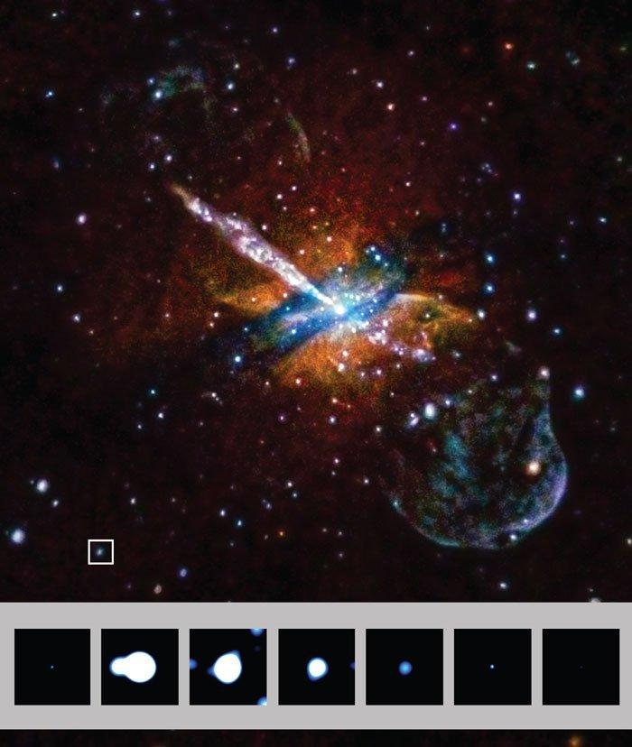 Ультраяркие рентгеновские источники нашли у двух старых галактик. Новый природный феномен? - 2