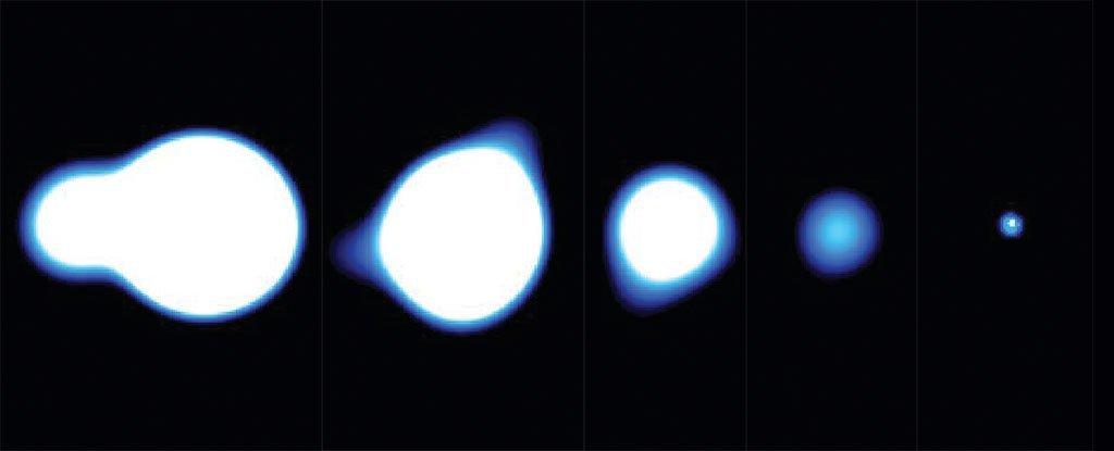 Ультраяркие рентгеновские источники нашли у двух старых галактик. Новый природный феномен? - 1
