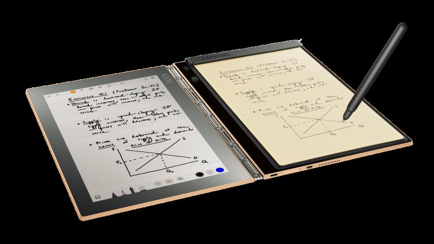 Yoga Book: первый планшет с настоящими записками и набросками - 3