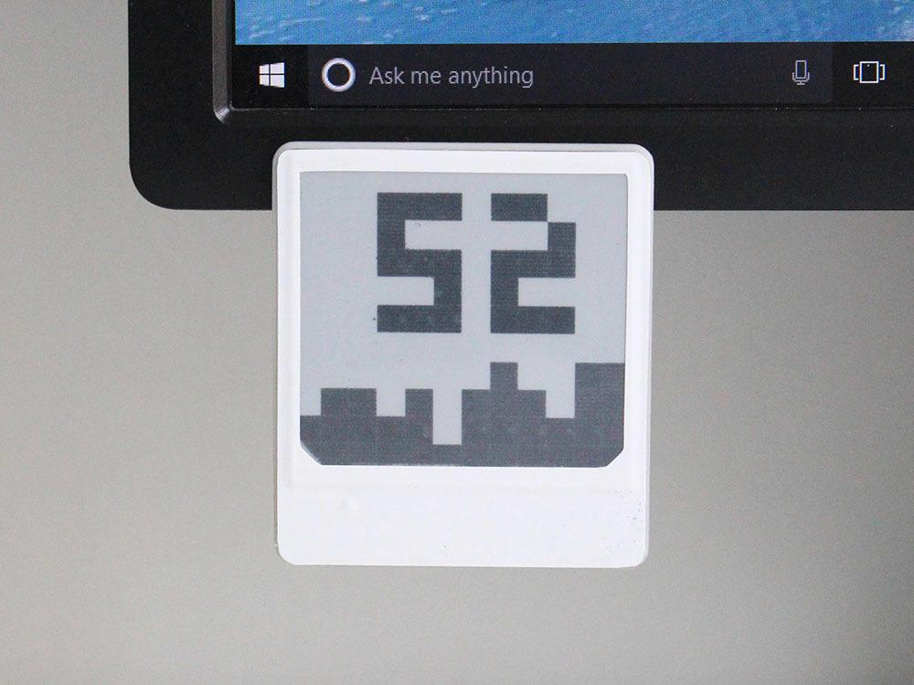 Дисплей-индикатор на электронных чернилах «живёт» на солнечной энергии и никогда не требует подзарядки - 2