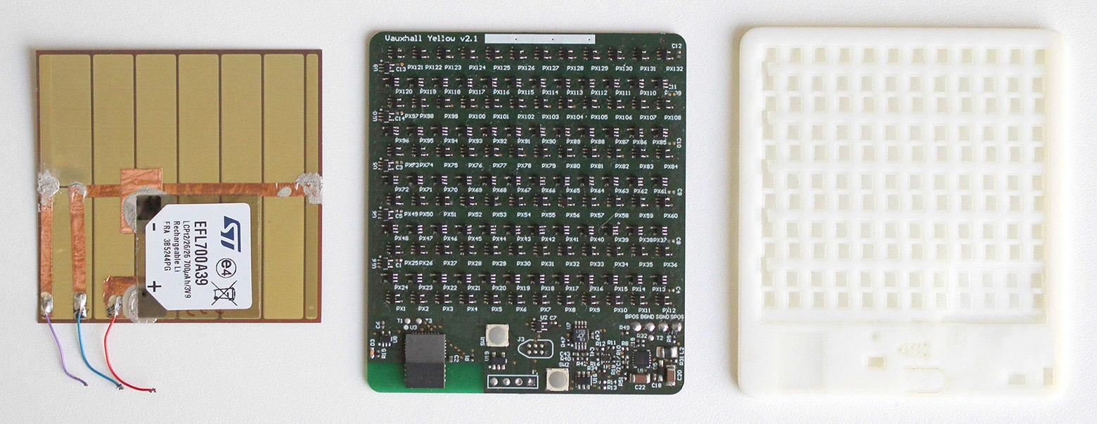 Дисплей-индикатор на электронных чернилах «живёт» на солнечной энергии и никогда не требует подзарядки - 3