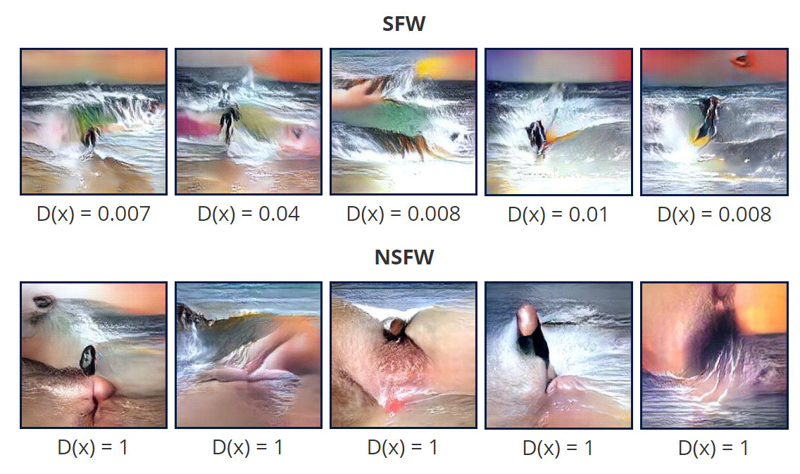 Генерация художественных картин в нейросети, обученной для распознавания порно - 11