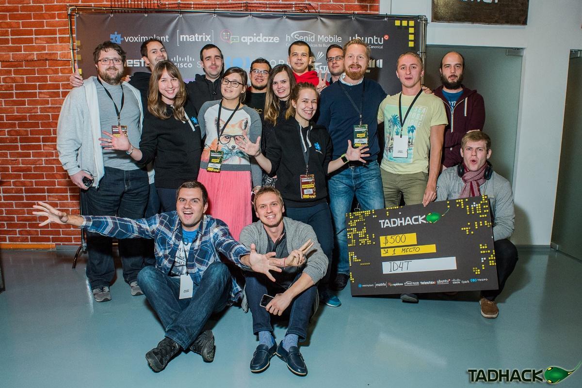 Лучшие проекты телеком-хакатона TADHack Moscow 2016 - 1