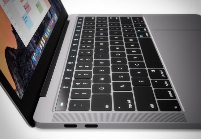 Торговые марки Magic Toolbar и Smart Button указывают на названия нововведений MacBook Pro